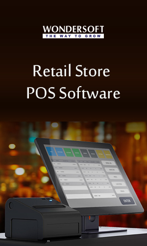 POS System with the best retail POS software at a retail store on display.