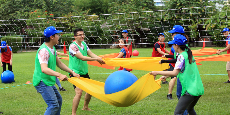 Image Showing A Fun Element of Throw Ball Game.
